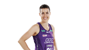 Headshot of Firebirds' Laura Clemesha